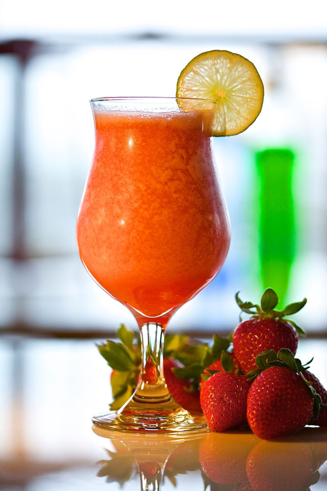 Cocktails, Strawberry, Daquiri, Alcohol