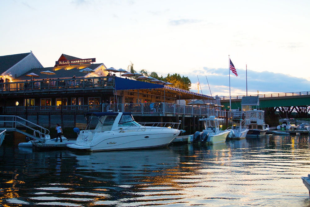 Boats, Waterfront, Seafood, Surf n Turf