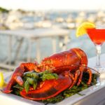 Lobster, Asparagus, Cocktail, Classy, Waterfront
